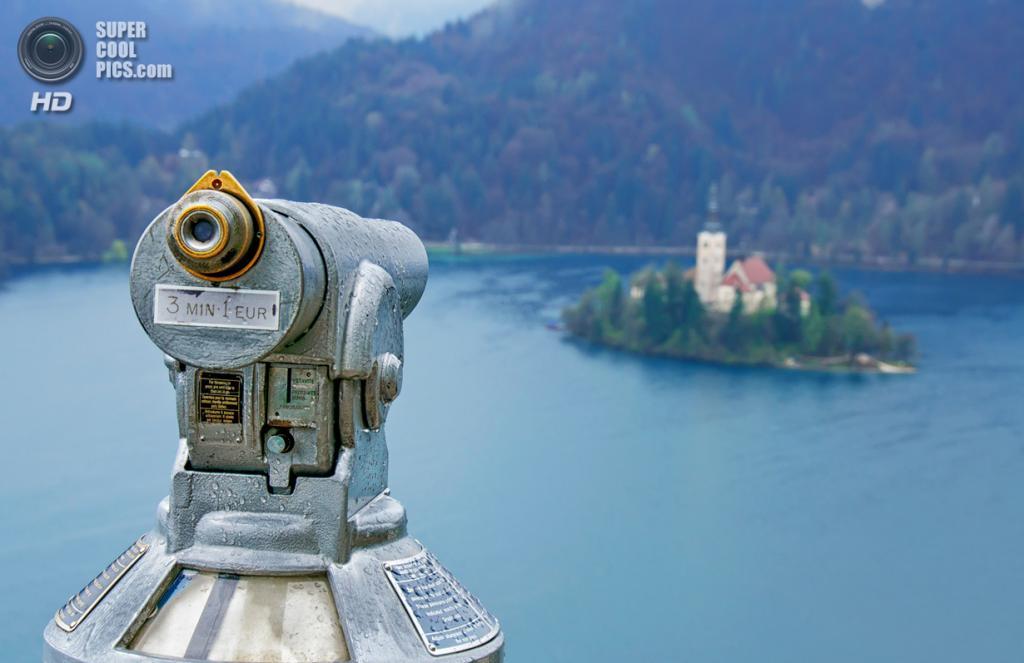 Словения. Крайна. Бледское озеро. (Nabil z.a.)