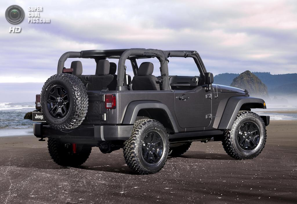 Jeep Wrangler Willys Wheeler Edition. (Chrysler Group LLC)