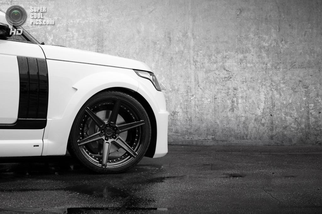 Lumma Range Rover CLR R. (TopCar)