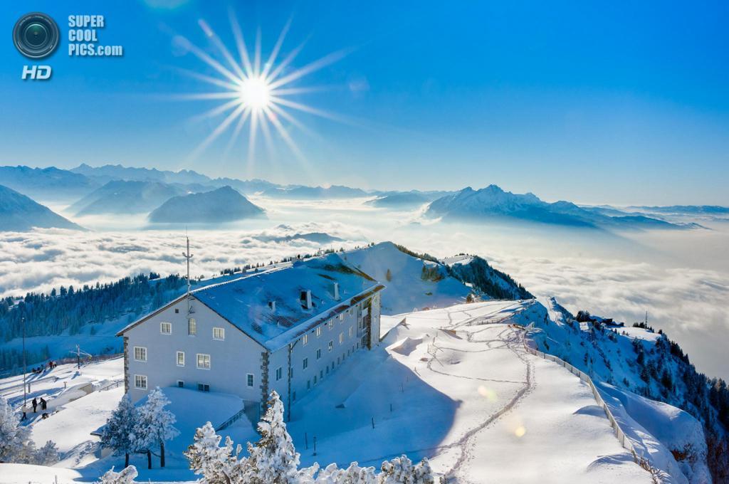 Зимний пейзаж. (Thierry Hennet)