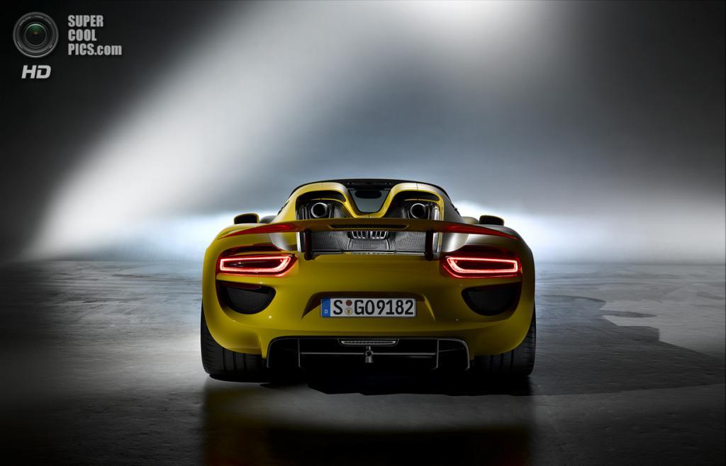 Porsche 918 Spyder. (Dr. Ing. h.c. F. Porsche AG)