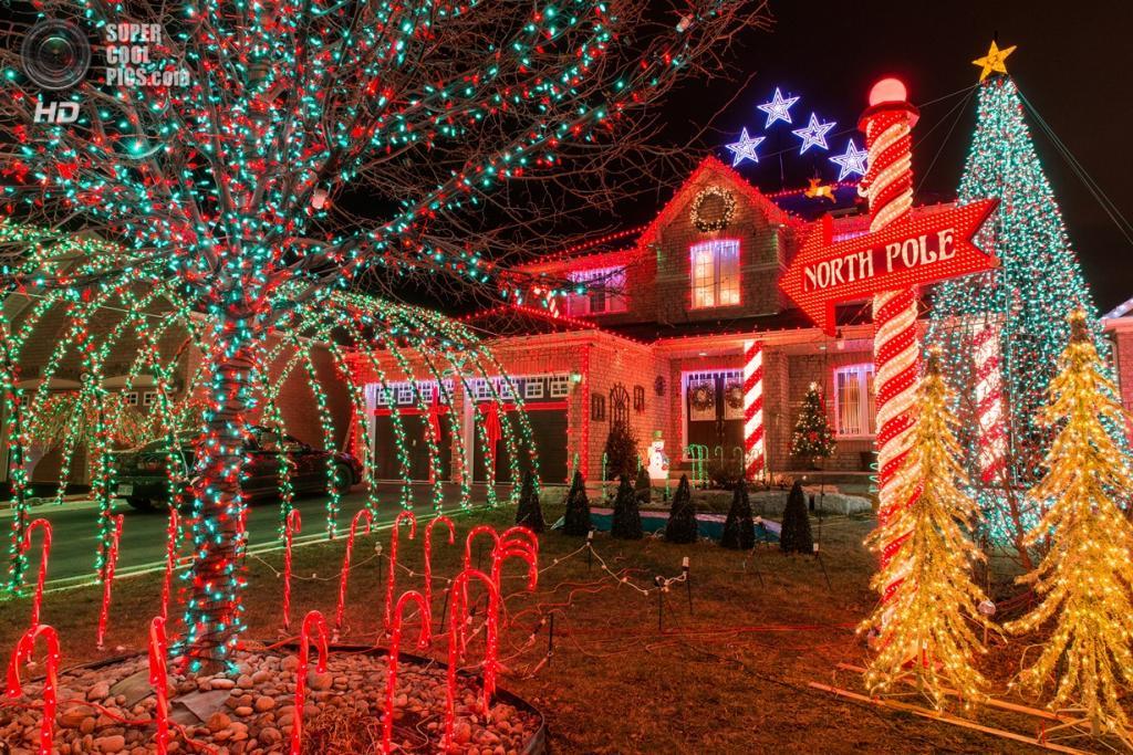 Рождественские огни. (Gregory Pleau)
