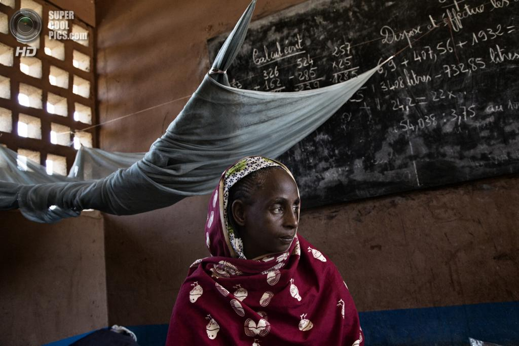 Центральноафриканская Республика. Босангоа, Уам. 1 ноября. Мусульманка Ашату Али. Её детям перерезали горло прямо у неё на глазах. (Marcus Bleasdale/VII)