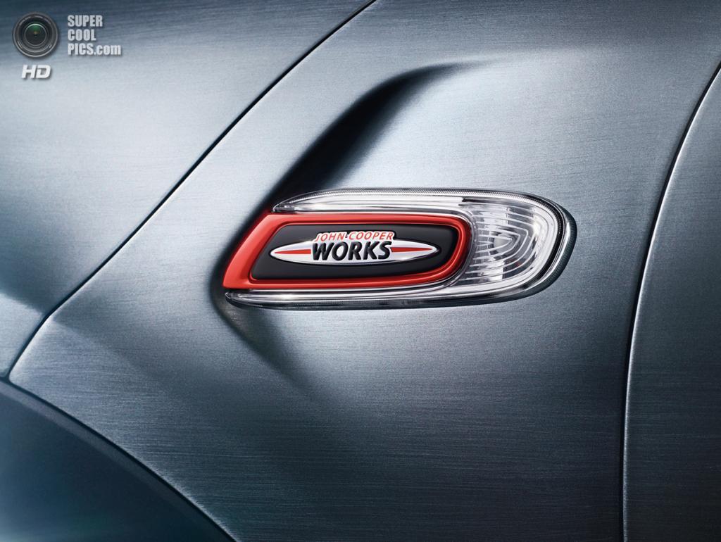 MINI John Cooper Works. (BMW AG)