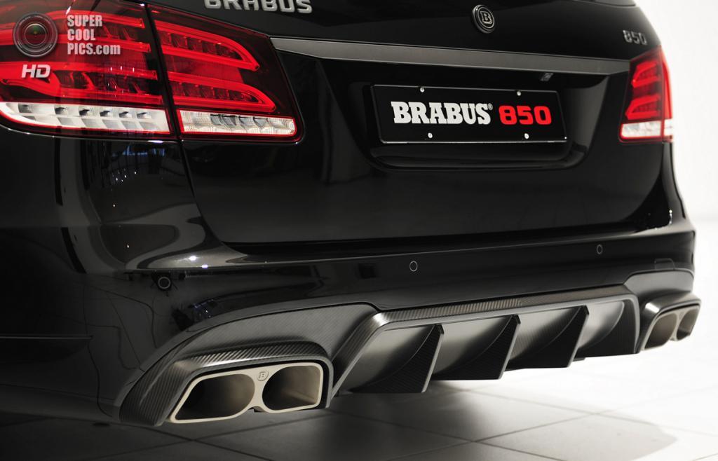 Brabus 850 6.0 Biturbo Estate. (Brabus)