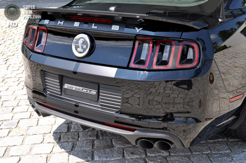 Ford Shelby GT500. (GeigerCars)