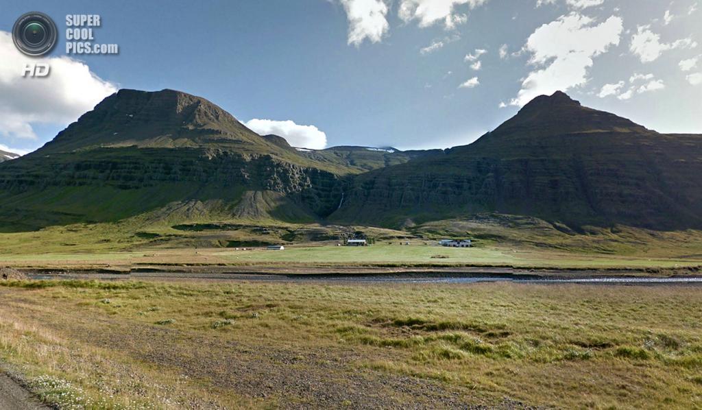 Исландия. Горы. (Google)