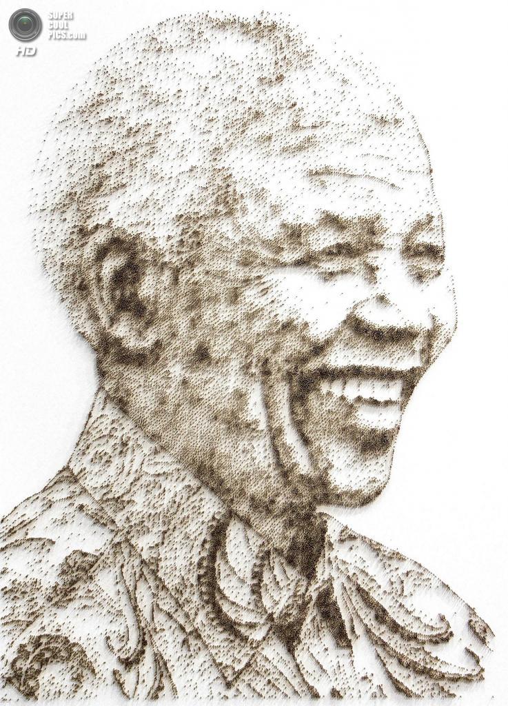 Нельсон Мандела. (David Foster)
