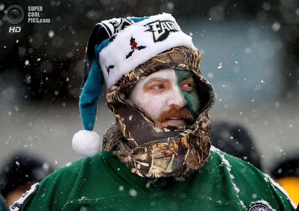 США. Филадельфия, Пенсильвания. На матче НФЛ. (Elsa/Getty Images)