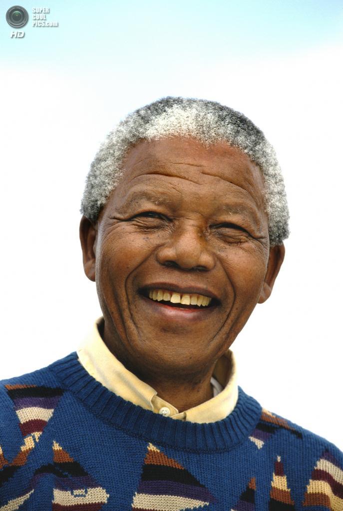 ЮАР. Йоханнесбург. Апрель 1994 года. Нельсон Мандела. (Tom Stoddart/Getty Images)