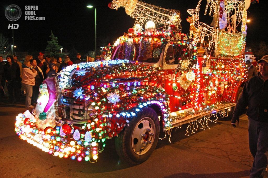 Рождественские огни. (City of Greeley)