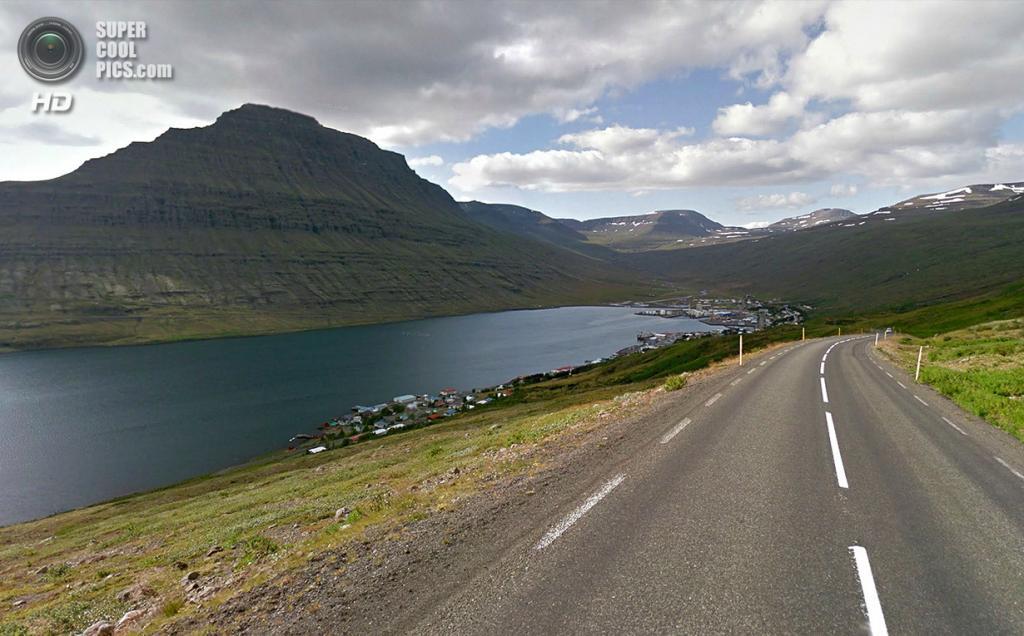 Исландия. Эскифьордюр. (Google)