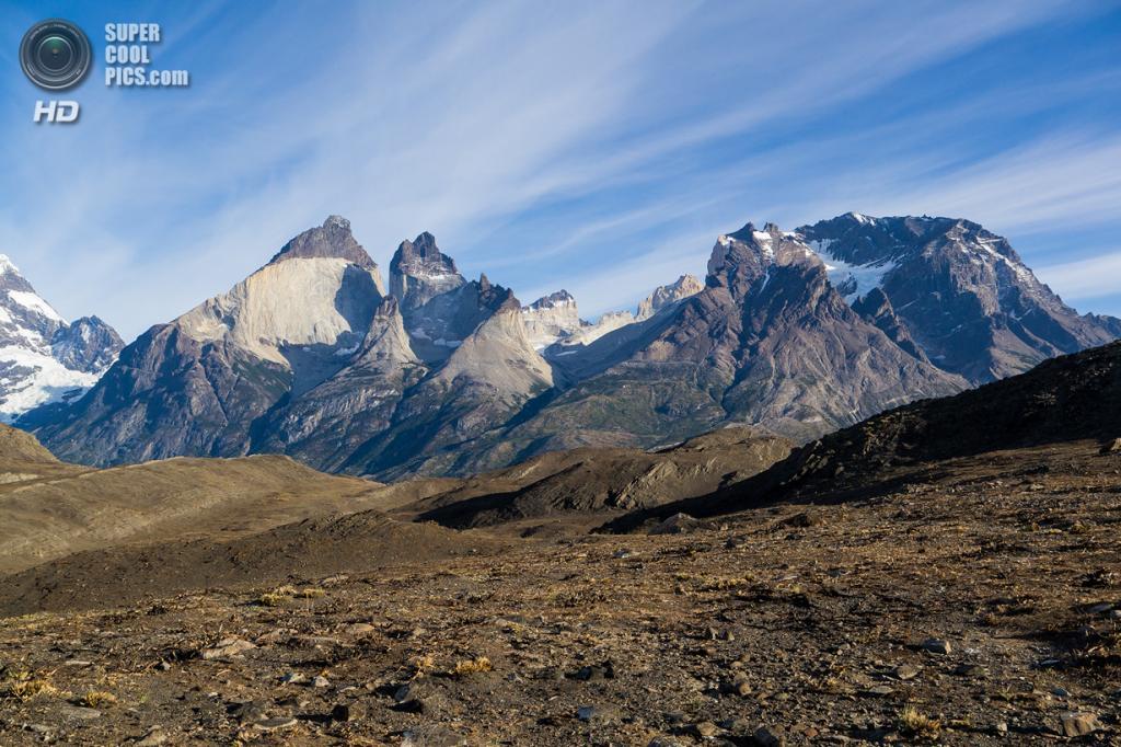 Чили. Национальный парк Торрес-дель-Пайне. (Rita Willaert)