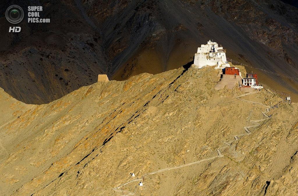 «Монастырь Намгьял-Цемо». Место съемки: Индия. Лех, Ладакх. (Robert van Sluis/National Geographic Photo Contest)