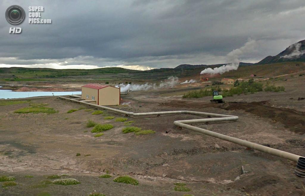 Исландия. Геотермальная электростанция Намаскард. (Google)