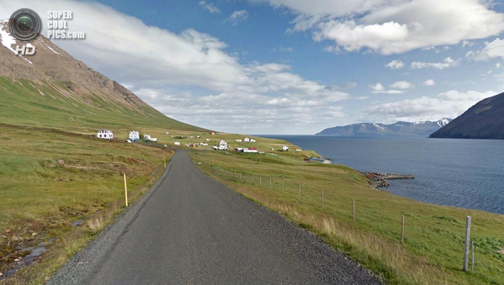 Исландия. Оулафсфьордюр. (Google)