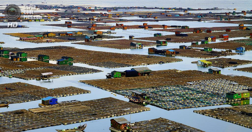 «Деревня рыбаков». Место съемки: Китай. Сяпу, Фуцзянь. (Thierry Bornier/National Geographic Photo Contest)