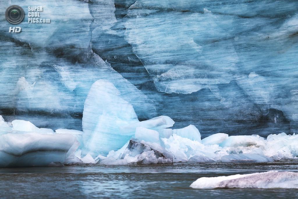 Гренландия. Кангерлуссуак, Кекката. 13 июля. Ледник. (Joe Raedle/Getty Images) — Пост на сайте