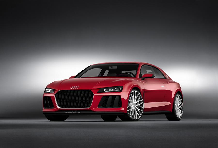 Audi Sport Quattro Laserlight Concept. (Audi AG)
