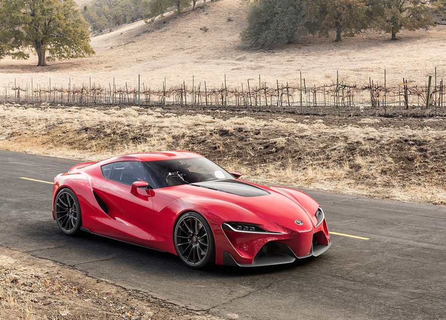 Toyota представила потрясающий FT-1 (40 фото + 2 HD-видео)