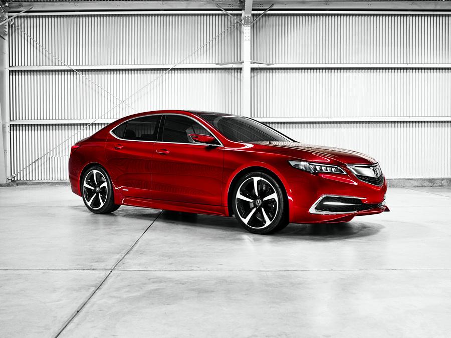 Acura TLX Prototype. (Honda Motor Company)