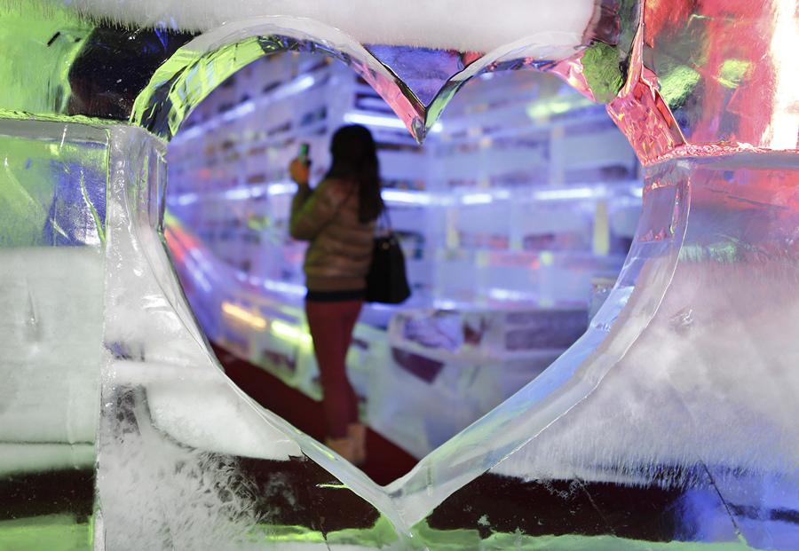Ледяные фантазии в Тайбэе (12 фото)