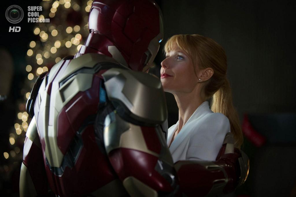Боевик «Железный человек 3» режиссёра Шейна Блэка. Номинирован в категории: «Лучшие визуальные эффекты». (Кадр из фильма)