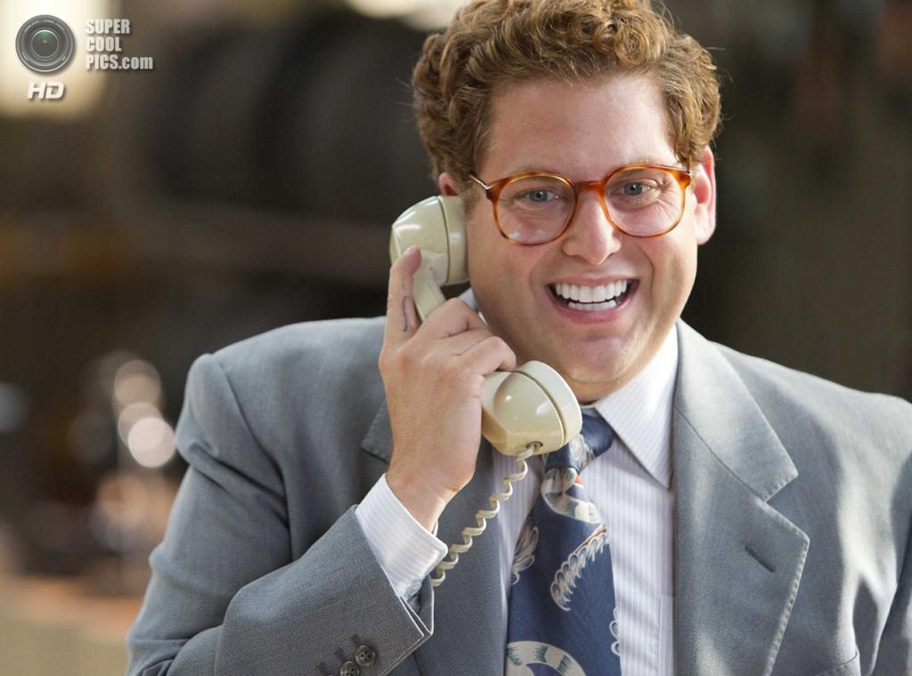 Номинант на премию «Лучшая мужская роль второго плана» Джона Хилл. Американский актёр, сыгравший Дэнни Азоффа в фильме «Волк с Уолл-стрит». (Кадр из фильма)