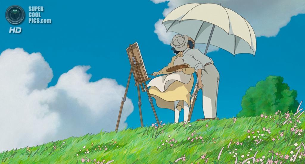 Номинант на премию «Лучший анимационный полнометражный фильм» «Ветер крепчает» студии Studio Ghibli. (Кадр из мультфильма)
