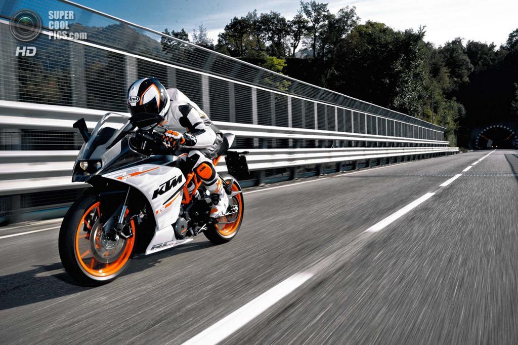 KTM RC 390. (KTM Sportmotorcycle AG)