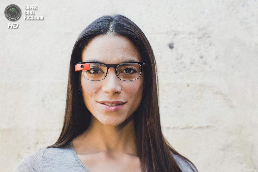 Google Glass с оправой Thin. (Google)