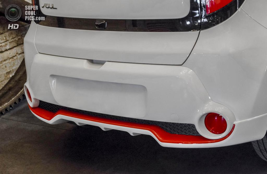 Kia Soul Red Zone Special Edition. (Kia Motors)