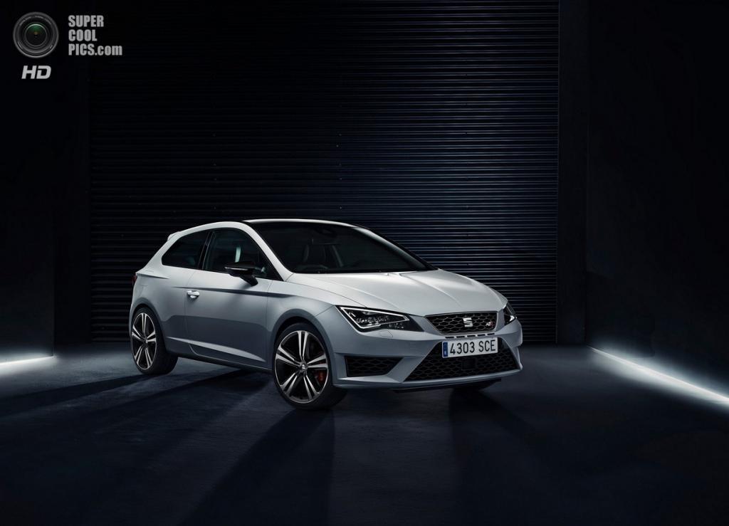 SEAT León Cupra. (Volkswagen Group)