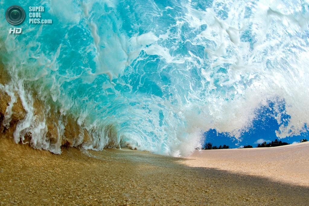 «Последний взрыв». Этот снимок был сделан лёжа на сухом песке. Избежать взрывной волны уже невозможно. (Clark Little)