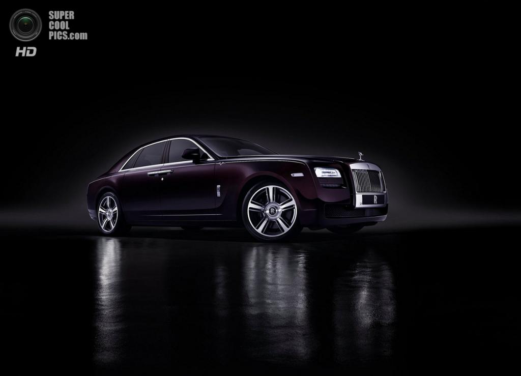 Rolls-Royce Ghost V-Specification. (Rolls-Royce)