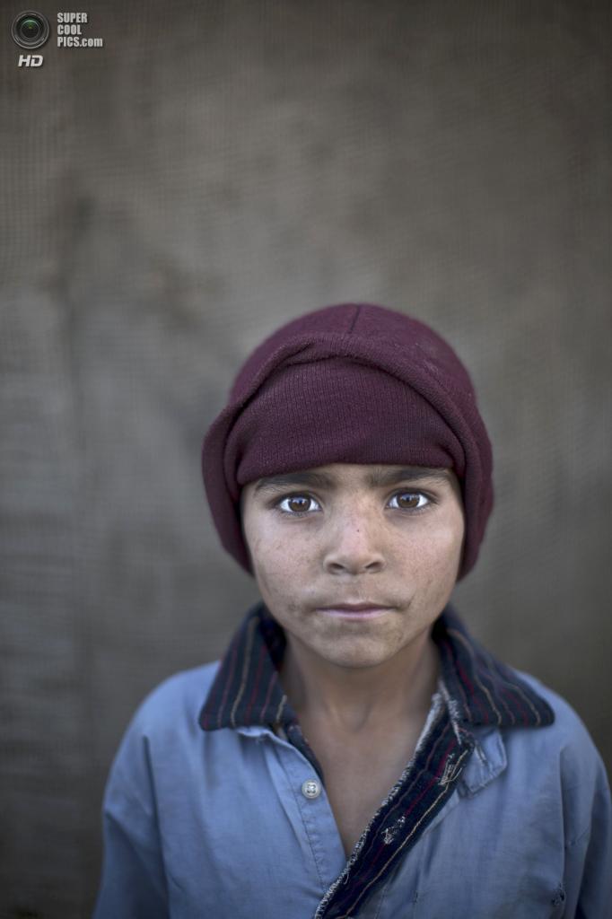 Нурхан Захир, 6 лет. (AP Photo/Muhammed Muheisen)