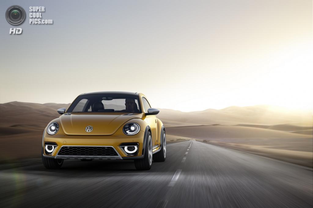Volkswagen Beetle Dune Concept. (Volkswagen AG)