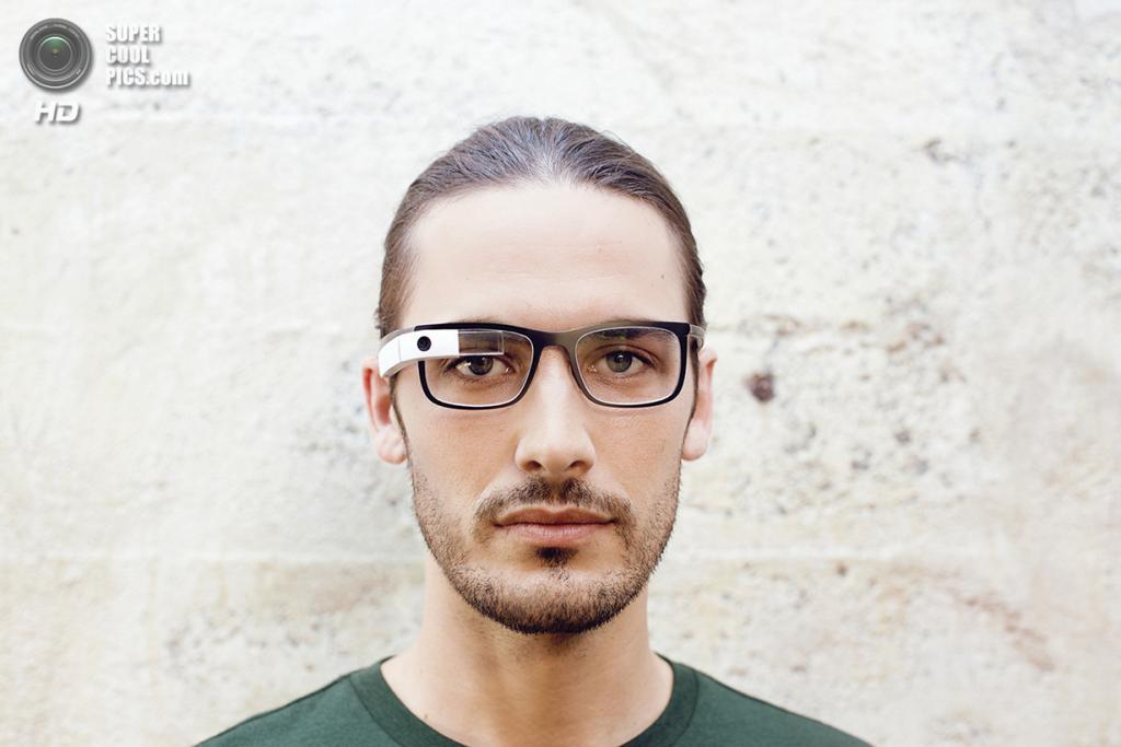 Google Glass с оправой Bold. (Google)