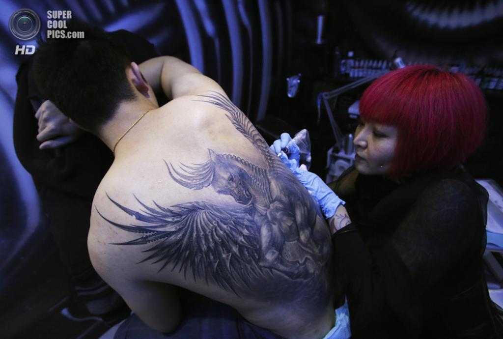 Китай. Пекин. 19 января. В преддверии Китайского Нового года. (REUTERS/Kim Kyung-Hoon)