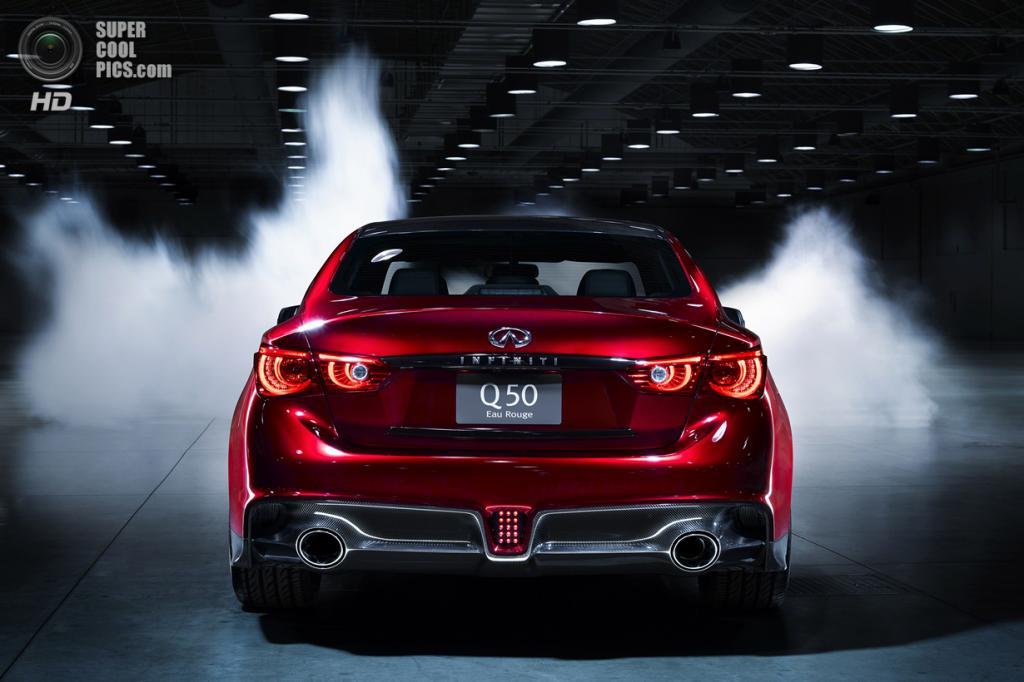 Infiniti Q50 Eau Rouge Concept. (Nissan Motor Company)