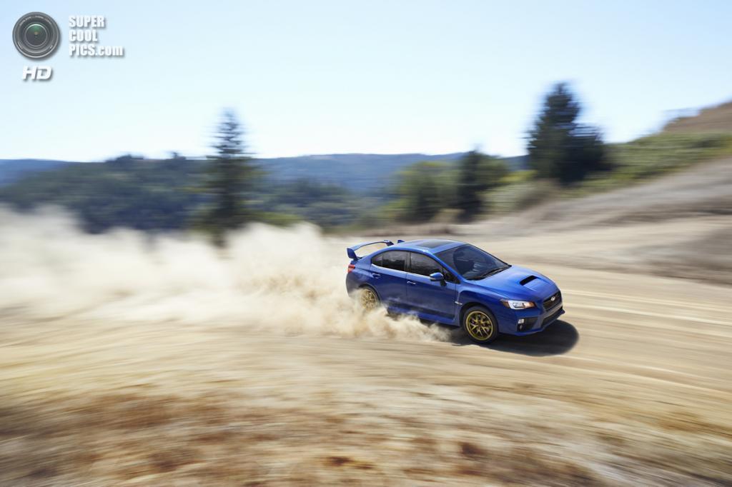 Subaru WRX STI. (Fuji Heavy Industries)
