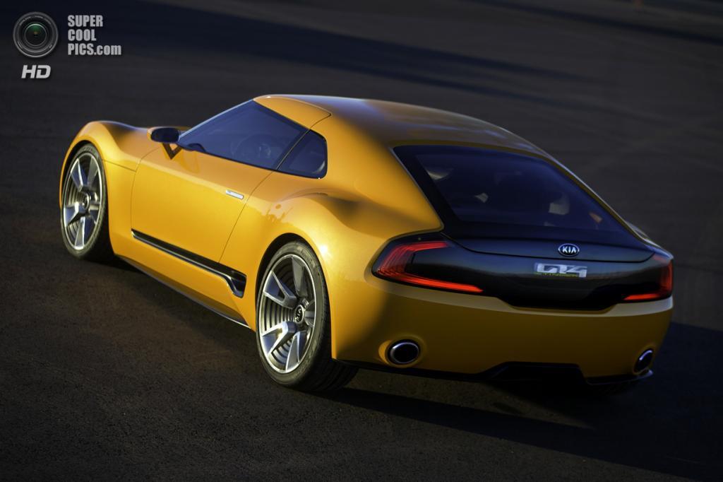 Kia GT4 Stinger Concept. (Kia Motors)