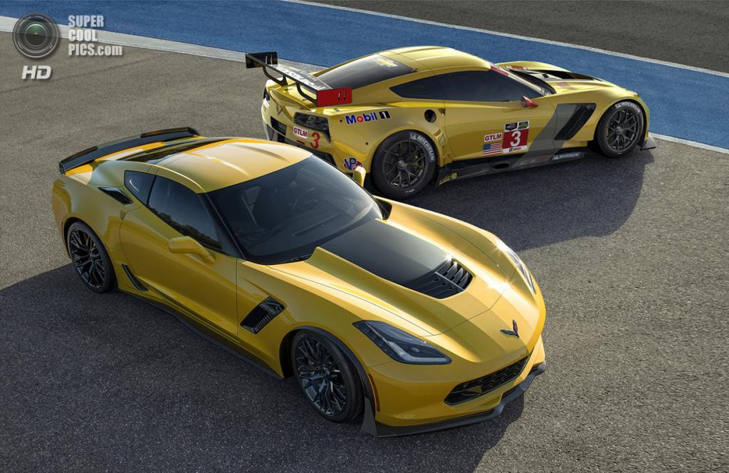 Chevrolet Corvette Z06 и Chevrolet Corvette C7.R. (General Motors)