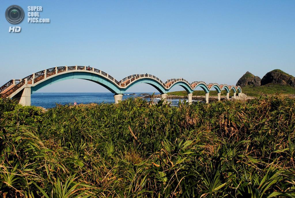 Тайвань. Тайдун. Живописная местность Саньсяньтай. (Amy)