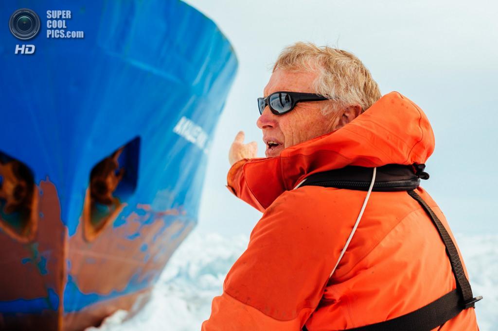 Антарктида. Руководитель экспедиции Грег Мортимер. (Andrew Peacock/AFP PHOTO)