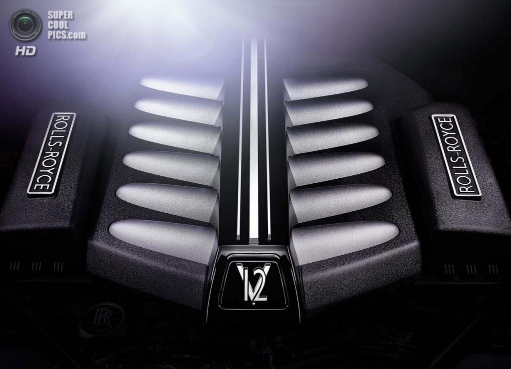 Rolls-Royce Ghost V-Specification. (Rolls-Royce)
