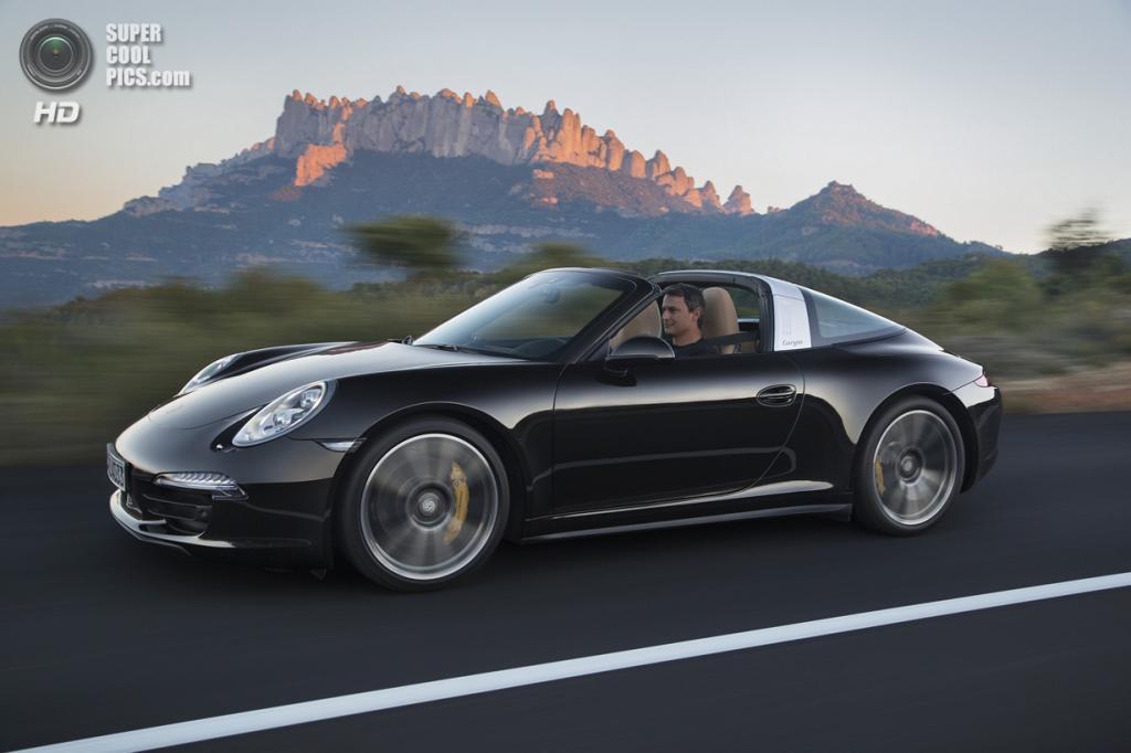 Porsche 911 Targa 4S. (Dr. Ing. h.c. F. Porsche AG)