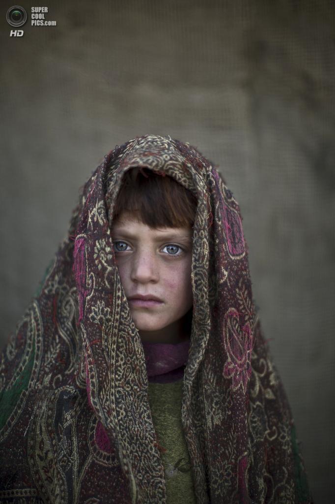 Насибах Заргул, 6 лет. (AP Photo/Muhammed Muheisen)
