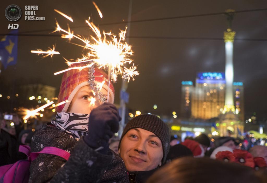 На украине как встретят новый год