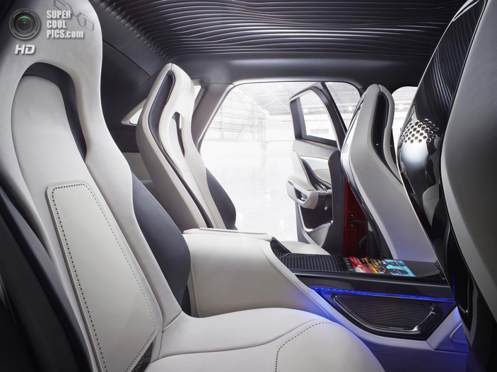 Jaguar C-X17 Concept. (Jaguar Land Rover)